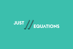 Just Equations' Logo