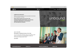 Unbound Live Small Content Example