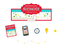 Nutcracker website design elements
