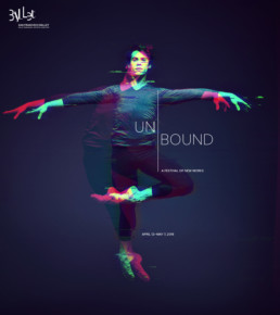 Design concept for San Francisco Ballet's Unbound: A Festival of New Work